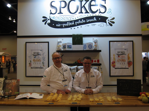 Dave Pullar and Mike Cadrin with new Spokes from Left Field Foods