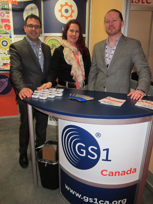 Dan Doulos with Pam Horvatis and David Clark of GS1