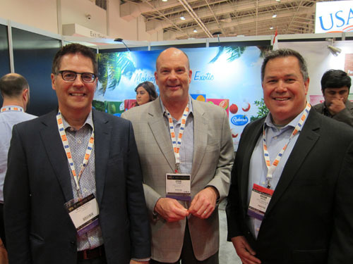 Kruger Products - Michel Manseau and Stephen Turner with Kevin Hayes of UGI