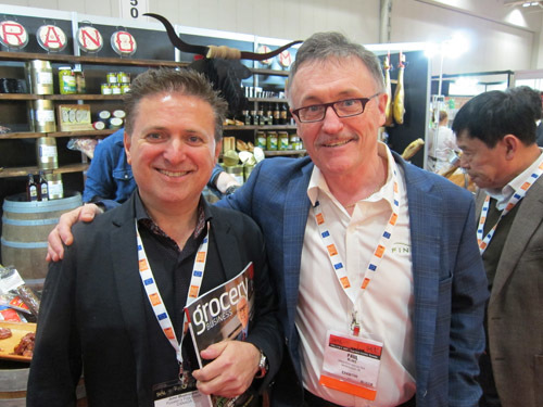Pusateri's John Mastroianni with Finicas Paul Blake