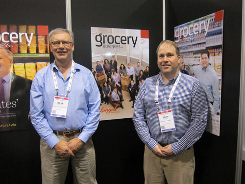 Dave Powell and Brad Walsh, Atlantic Grocery Distributors