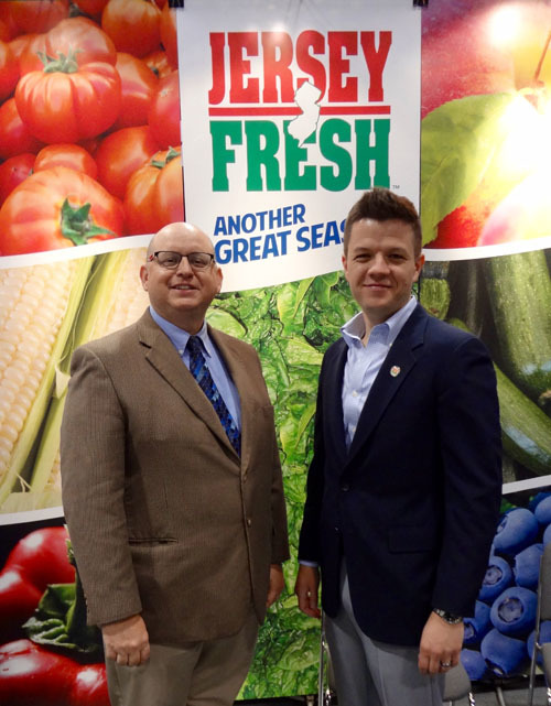 Joe Atchison and Tom Beaver, New Jersey Department of Agriculture