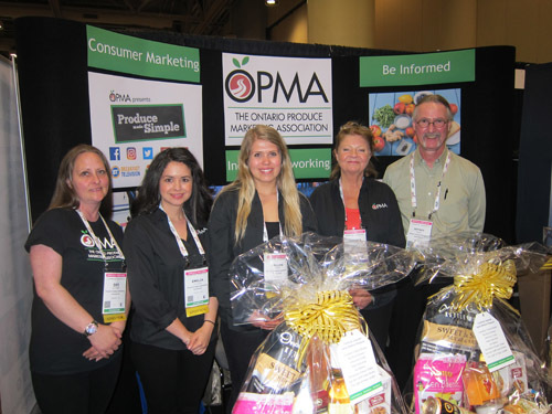 OPMA's Dee Klemann, Emilia DeSousa, Fallon Streef, Virginia Zimm and Jeffrey Honey