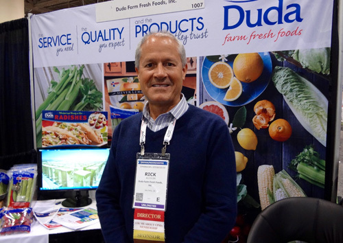 ick Alcocer of Duda Farm Fresh Foods and CPMA Incoming Chair