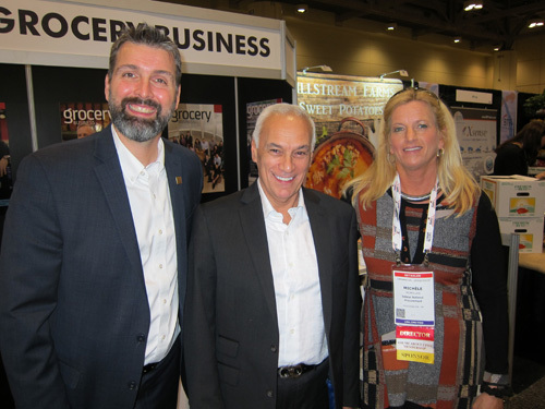 Ron Lemaire and Sam Silvestro, CPMA with Michele McMillan, Sobeys Inc.