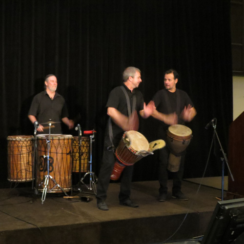 Setting the rhythm at the conference opening