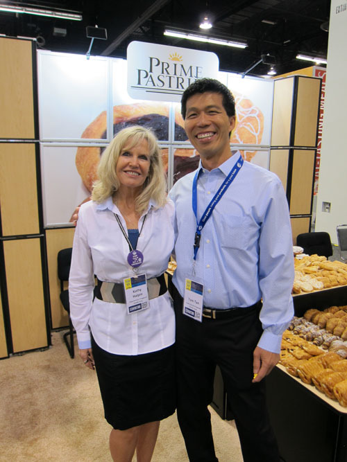 Kathy Halpin and Tom Tan, Give-and-Go