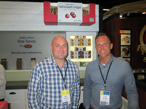 Mike Sullivan and Frank Wright, Dare's Lesley Stowe's Raincoast Crisps‪
