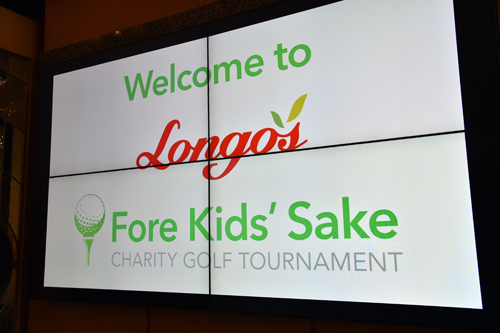 A. Longo's For Kids Sake golf tournament