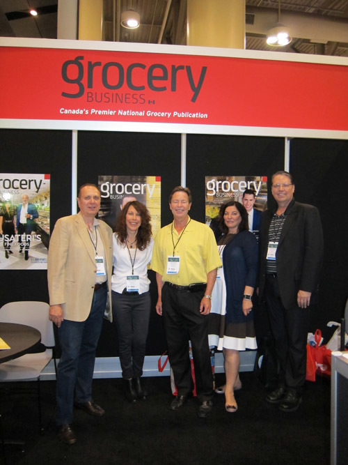 Dan Bordun, Mary Scianna, Kevin Smith, Karen James and Larry Bonikowsky, Grocery Business