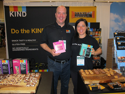 Todd Kelly and Shawna Jacques, Kind Snacks