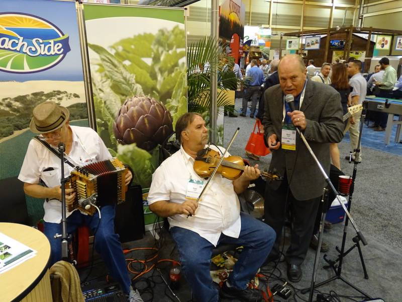 Music Southern style is never far away at the PMA Show New Orleans