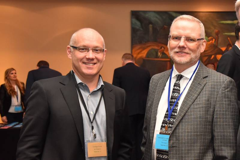 Ian Roberts, Conagra Foods and Tom Lalach, Federated Coop