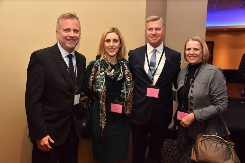Shaun McKenna, The Grocery Foundation; Cara Keating, Pepsico; Steve Fox, Nestle Canada; Michelle Scott, The Grocery Foundation