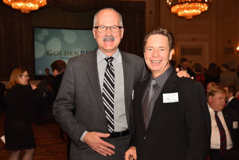 Brent Scowen, Acosta Canada; Kevin Smith, Grocery Business