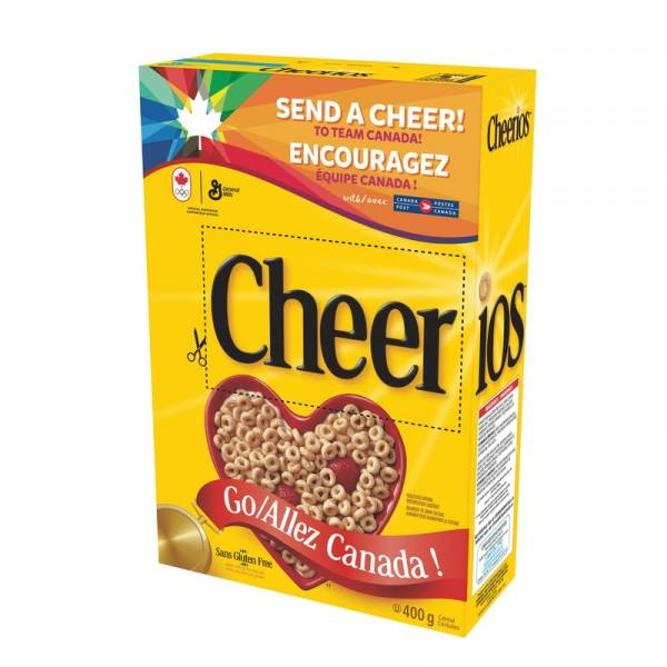 Cheerios Launch It List It