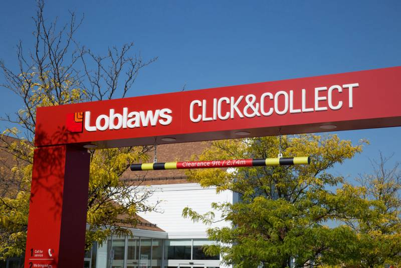 Loblaw Click and Collect Service
