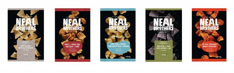 Neal Brothers launches new packaging design