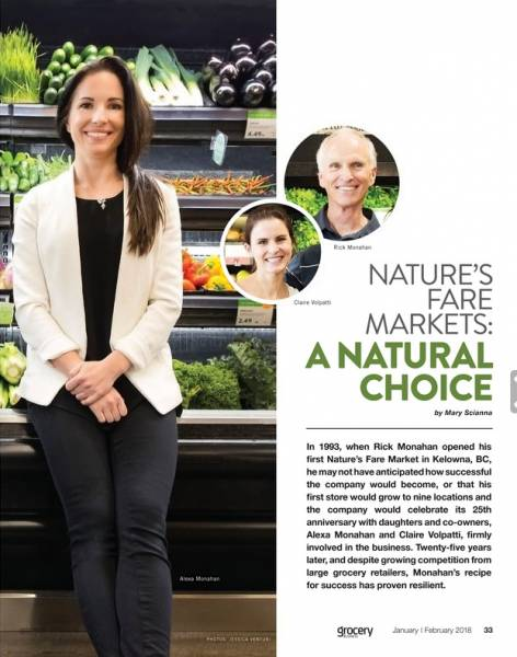 Nature's Fare Markets: A Natural Choice