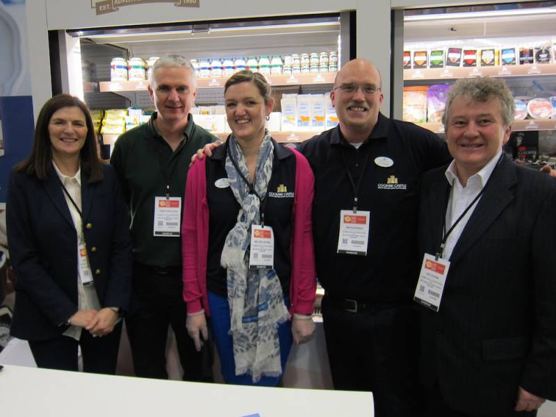 Alison Taylor Belton, Farm; Jonathan Cope, Delamere Dairy; Melissa Noone and Jim Kavanagh Coombe, Castle; and Ian Coggin Belton,  Farm