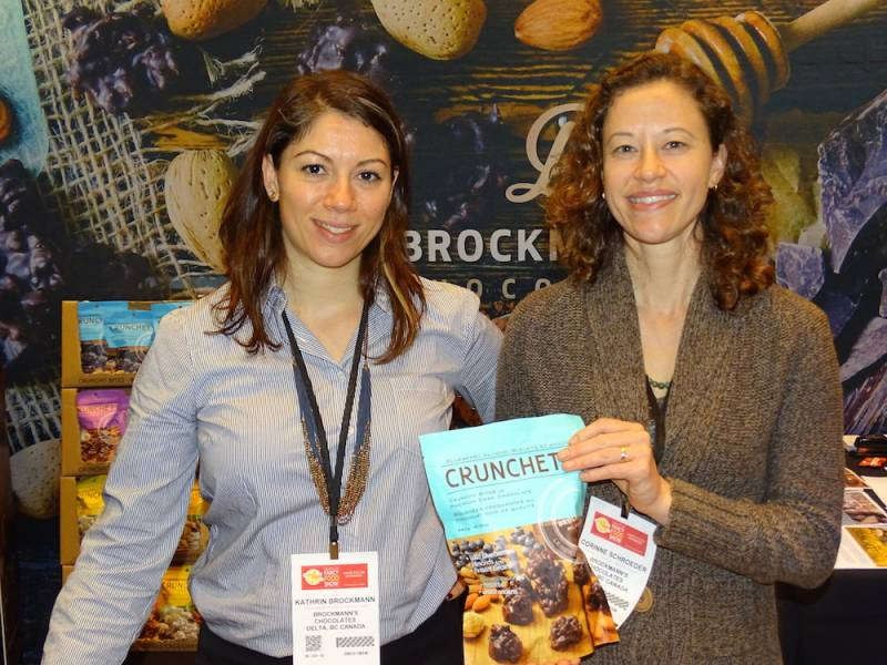 Kathrin Brockmann and Corinne Schroeder of Brockmanns Chocolates