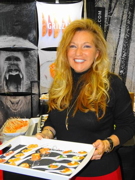 Laura Boivin showcases new products from Fumoir Grizzly