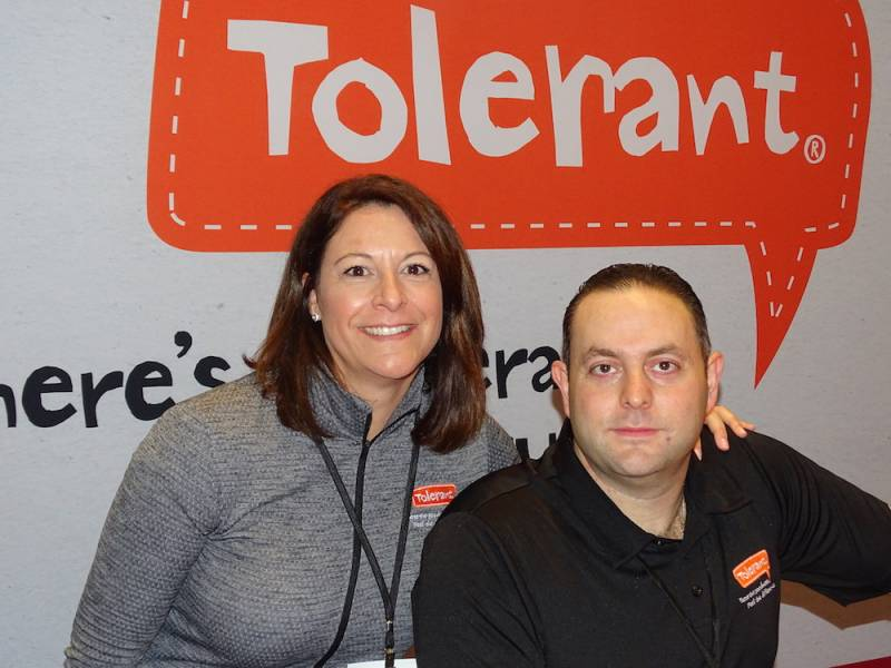 Lori Beasley and Shawn Pinsky of Tolerant Foods