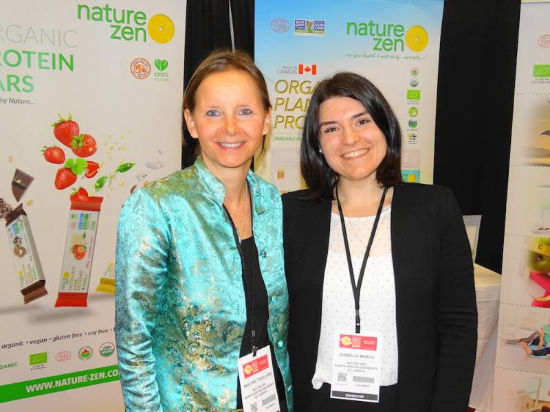 Martine Thuillard, left and Isabelle Marcil of Nature Zen