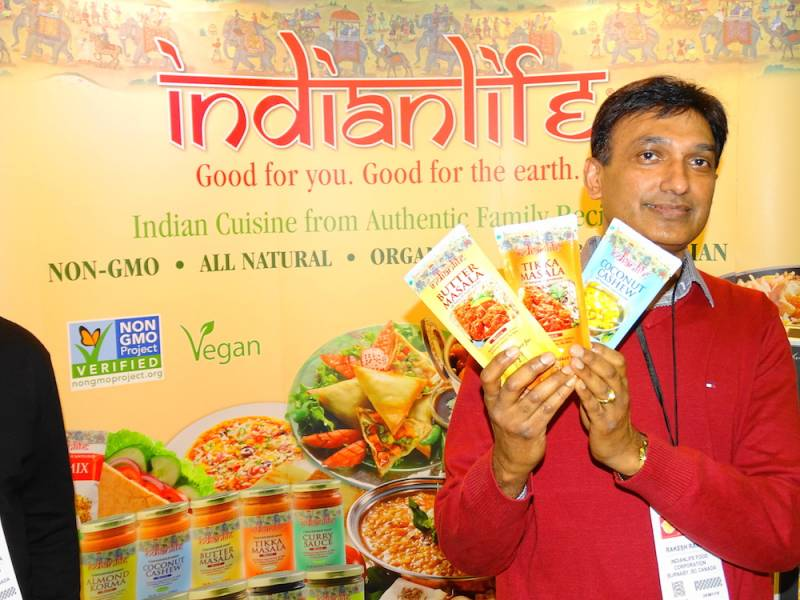 Rakesh Raniga of Indianlife Food