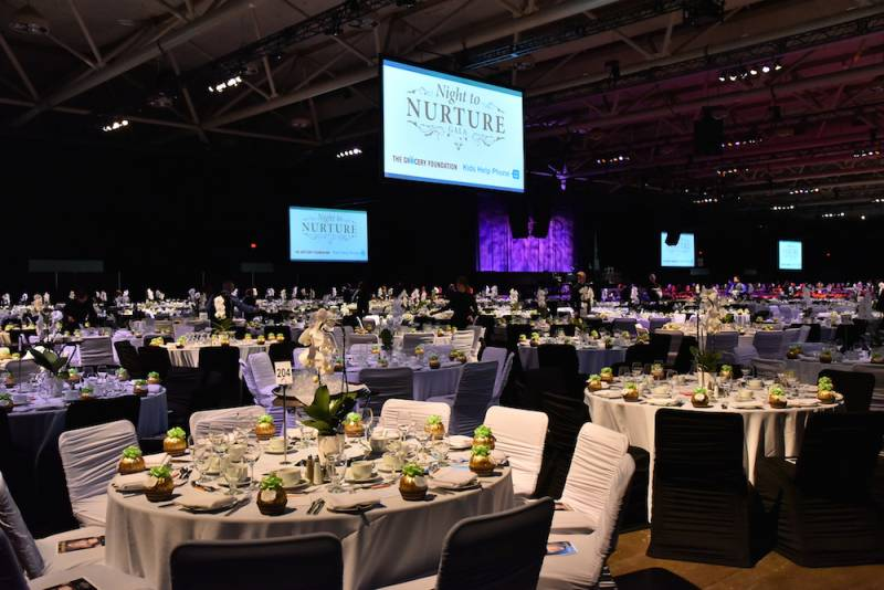 A gala Night to Nurture atmosphere