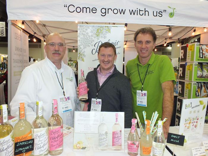 Jim Kavanagh, Brandseed Marketing; Lee Hemmings, Belvoir Fruit Farms; Olivier Sonnois, BWR Group