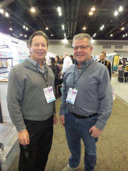 Kevin Smith, Grocery Business; Peter Andraessen, Cyba Stevens Management Group
