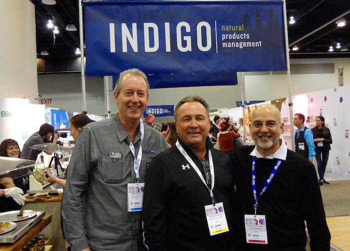 Mike Donald, Indigo; Randy Gaudette, Star Marketing; and Ishkander Ahmed, Choices Markets