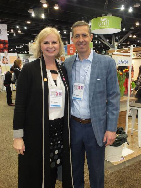Nancy Williams Carroll, Renew Life Canada and Dave Iacobelli, Clorox Canada