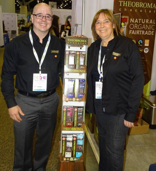 Sacha Laflamme and Helen Pike of Vigneault Chocolatier