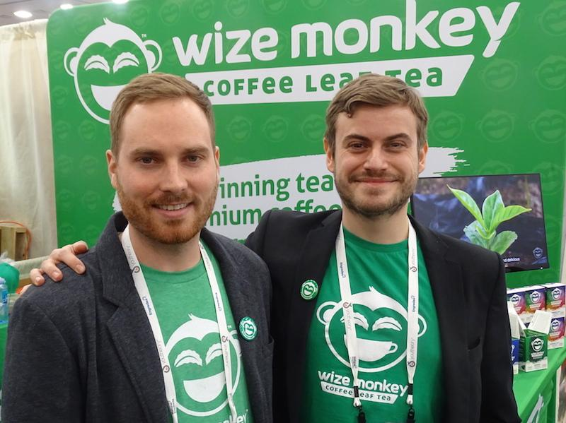 Wize Monkey co founders Max Rivest (left) and Arnaud Petitvallet