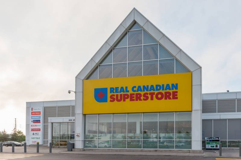 Real Canadian Superstore Exterior big