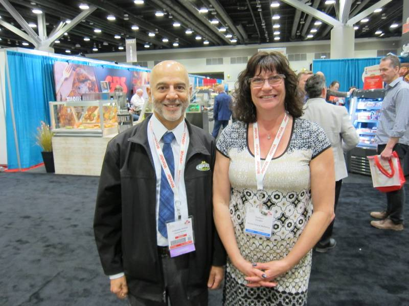 Ishkandar Ahmed, Choices Market and Colleen Douglas, McCormick Canada