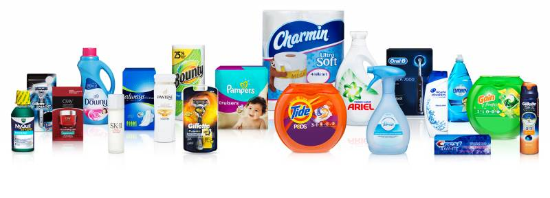 P&G products, Photo P&G