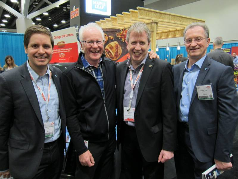 Pierre-Alexandre Blouin, ADAQ, Ross Bletsoe, Foodland, Francois Bouchard, The Country Grocer and Andre Forget, Beau soir