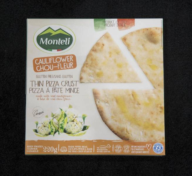 Best Frozen: Monteli Cauliflower Thin Crust Pizza (Tree of Life)