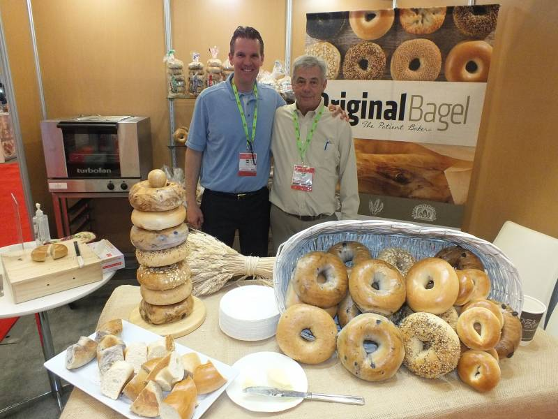 Dave Harris and Terry Martin, Original Bagel
