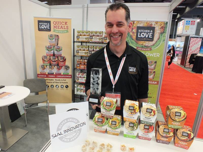 Dean Wilkinson, Cucina & Amore, with Cauliflower Quick Meal, SIAL Innovation Silver winner