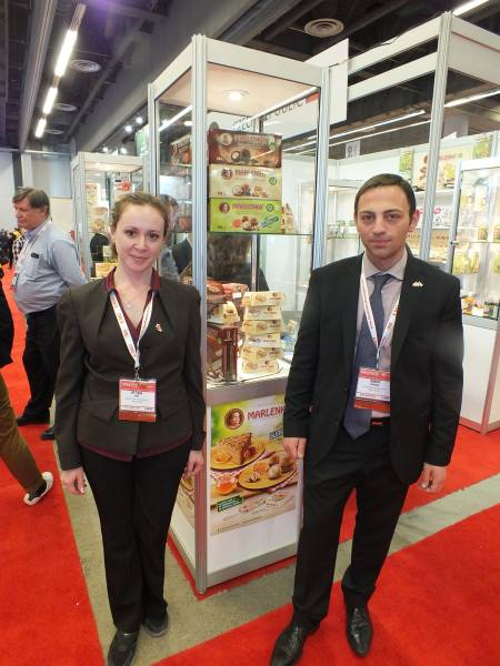 Svetlana Demb and Robert Khoubian, Marlenka Canada Distribution