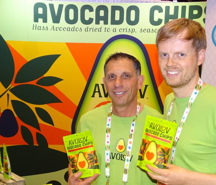 David Israel (l) and Eric Healy of AvoLov