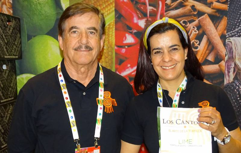 Jose Godinez Del Toro and Gabriela Godinez Laverty of Mexican Corn Products