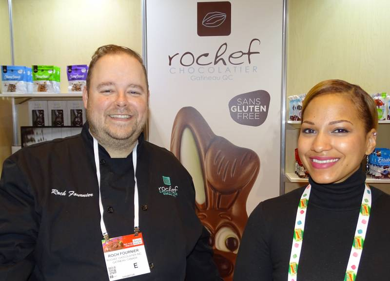 Roch Fournier and Joanna Lynn Ortiz of Rochef Chocolatier