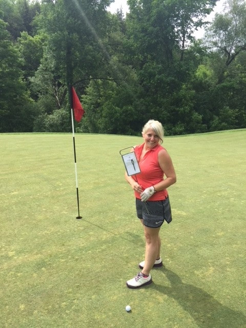 Closest to the pin Tracy Boudreau PECO Pallet