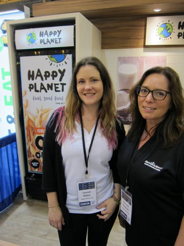 Happy Planet's Lauren Rebar and Danielle Pearson