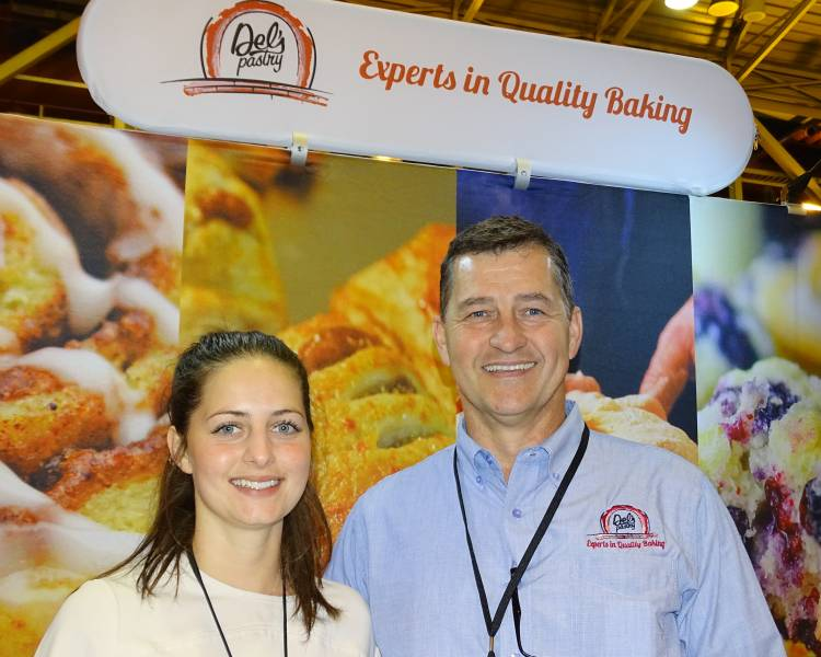 Sydney and Tom Mattes of Del's Pastry